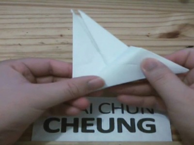 Origami Crane Place Card Holder (Tutorial)