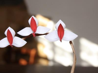 Origami tutorial - Orchid