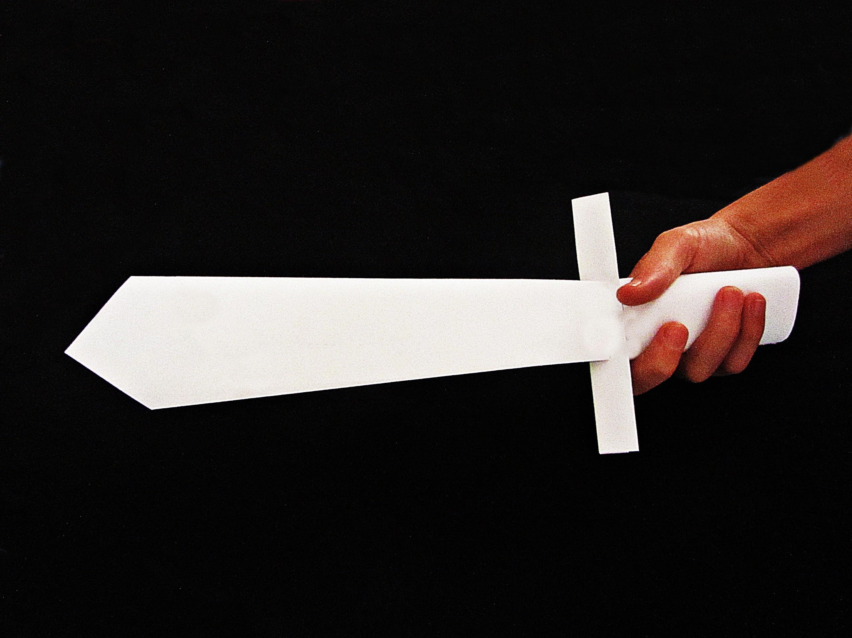 Как сделать из бумаги меч: схемы и видео 73