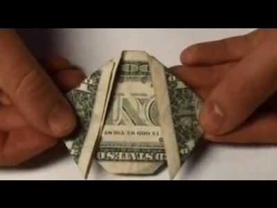 Quick Dog From a $1 One Dollar Bill - Origami Tutorial - Puppy Moneygami Easy How To Guide