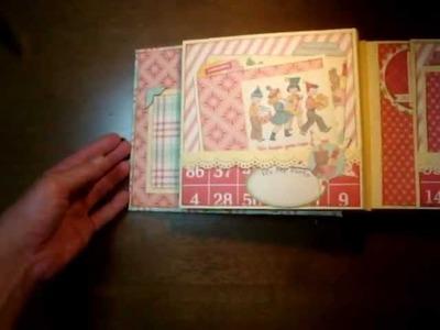 """Scrapbooking """"It's A Party Time mini album"""""""