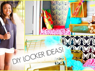 Back to School Locker Organization &  DIY Decorations!