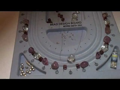 #bead necklace   -  How to make a bead necklace (part one)