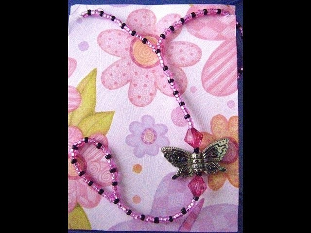 Butterfly Beaded Barefoot Sandal
