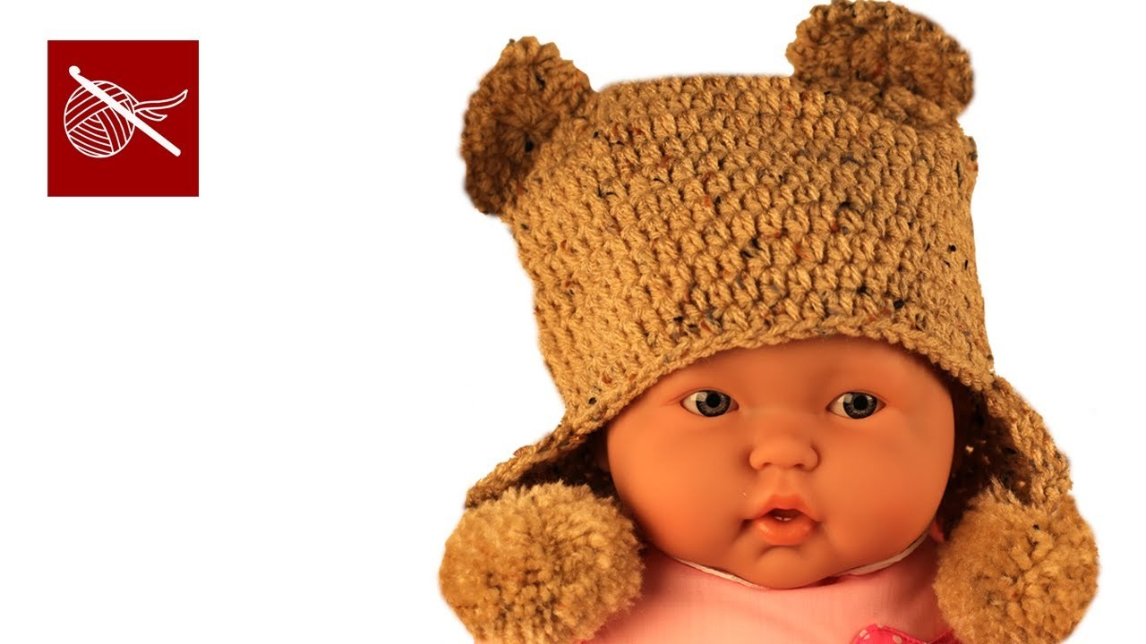 Crochet Baby Hat - Bear Ears - Crochet Geek