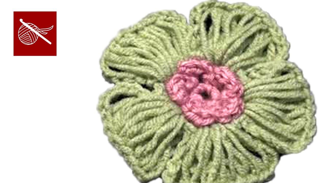 Crochet Geek Flower