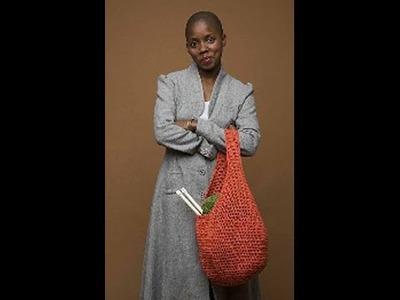#Crochet Market Bag - Video 2 (Lion Brand Pattern)