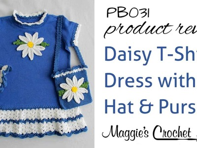 Daisy T Shirt Dress With Hat and Purse Product Review PB031
