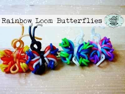 DIY Butterfly Hairclip.brooch: No Rainbow Loom! ¦ The Corner of Craft