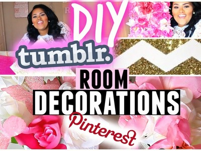 ♡DIY Cute, Girly & Affordable Room Decor♡ Tumblr + Pinterest Inspired !