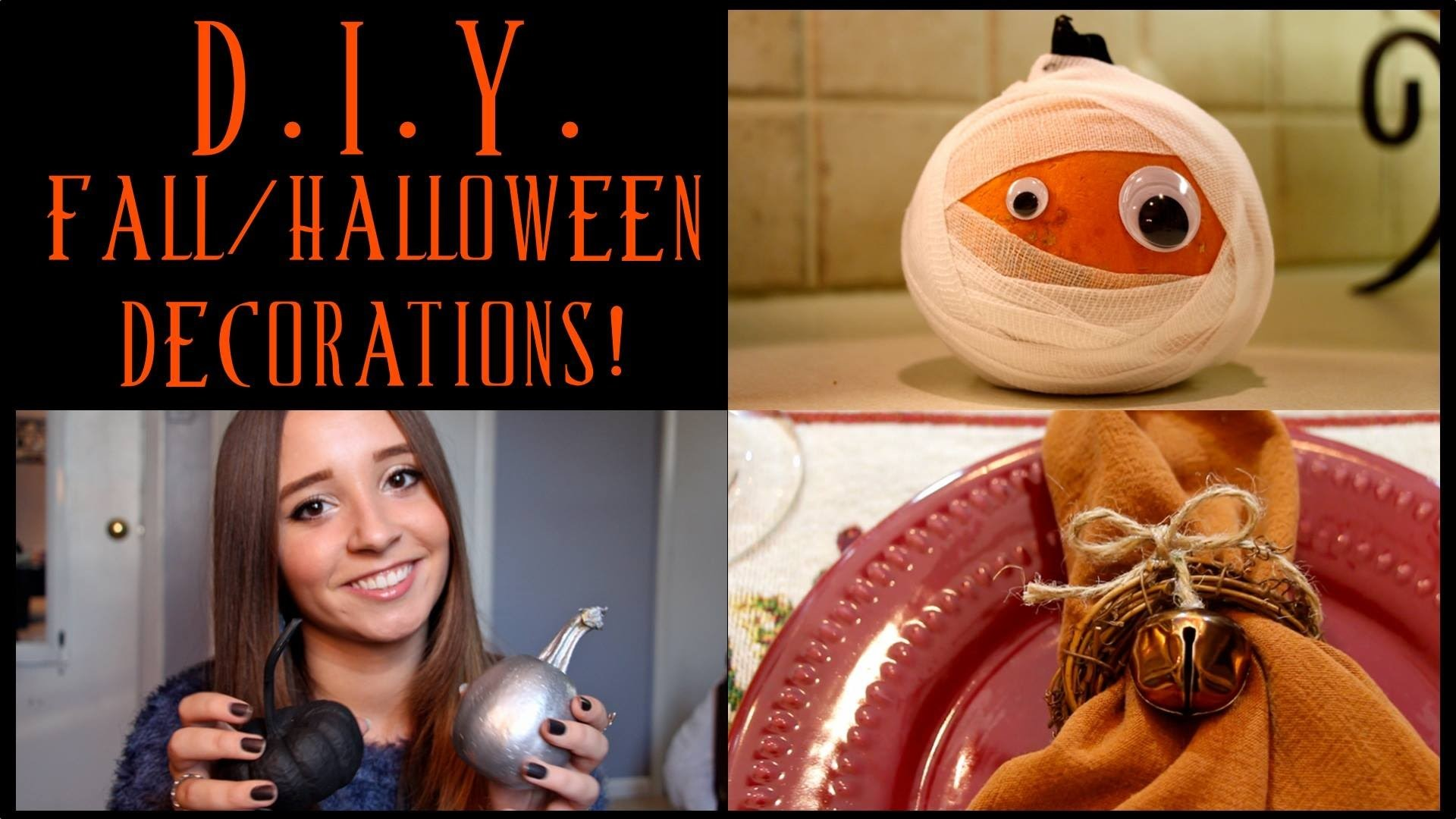 DIY Fall & Halloween Decorations! - Ali Brustofski