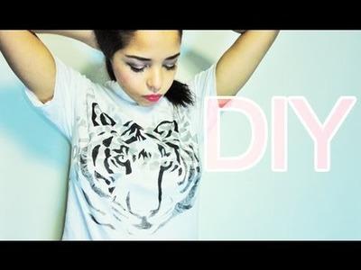 DIY: Graphic T-shirt