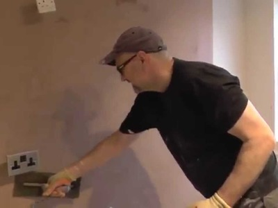 DIY: How to plaster a wall. How to skim a chimney breast