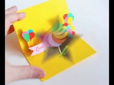 DIY Simple birthday card decorations ideas