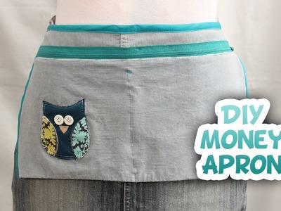 DIY Upcycled Money Apron - Whitney Sews