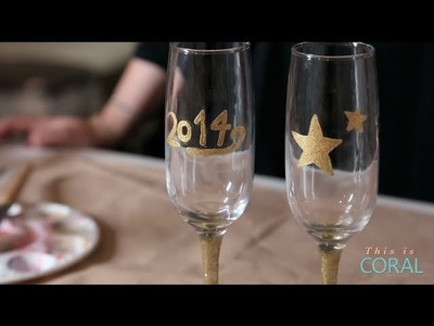 DIY with DesignHer Co: New Years Eve Champagne Flutes