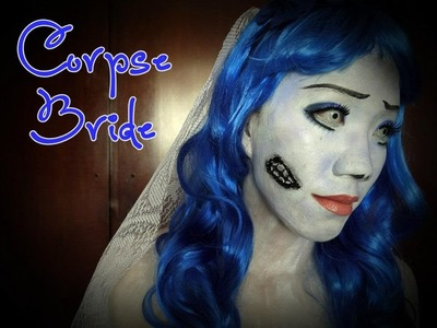 Halloween Series: Corpse Bride with DIY Hairband & Veil