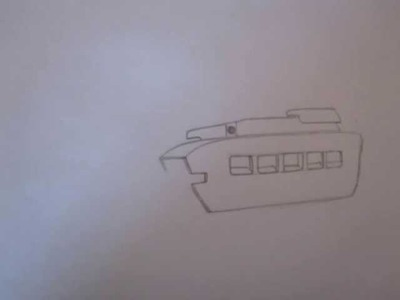 How to draw military vehicles WWII matilda mk II tank