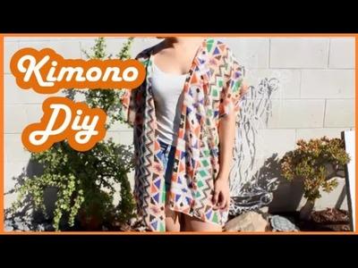 How to: Kimono DIY
