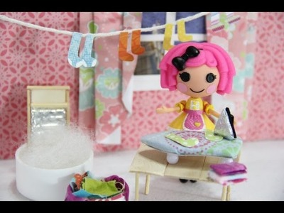 How to Make a Doll Iron and Ironing Board - Doll Crafts