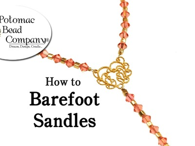 How To Make Barefoot Sandles
