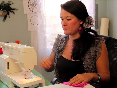 How to Sew Lycra Without Puckered Seams : Clothing Accessories Crafts