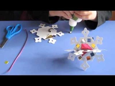 Kids Crafts - Snowflake Party Craft