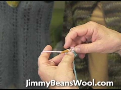 Knitting Instructional Video - Provisional Cast On