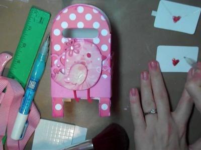 Let's Get Crafty # 81 Valentine Mail Box