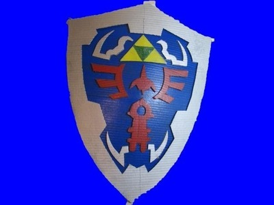 Make the Zelda Hylian Shield