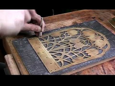 Metalwork - Making a Candle Sconce