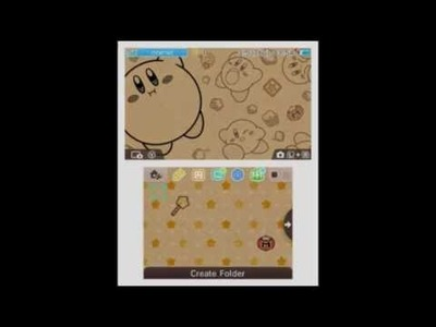 """Nintendo 3DS - """"Kirby: Craft-Paper Party"""" Full showcase"""