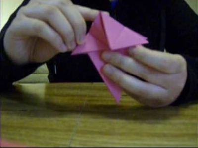 Origami 9 - Handball of Bellflower Kusudama (Part 1 of 2).wmv