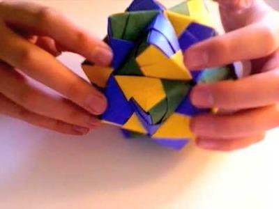 Origami Icosahedron Tutorial