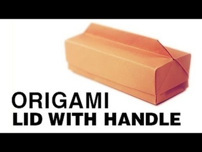 Origami Long Box + Lid with Handle