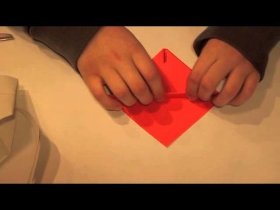 Origami - Red Angry Bird Origami Tutorial
