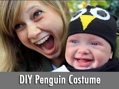 Quick + Easy DIY Penguin Costume