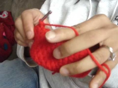 Red Octopus Crochet