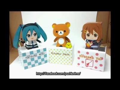 Rilakkuma - Paper Craft Toys by Puchi Anime.