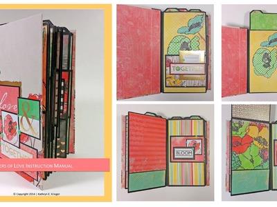 Scrapbook Mini Album: Layers of Love
