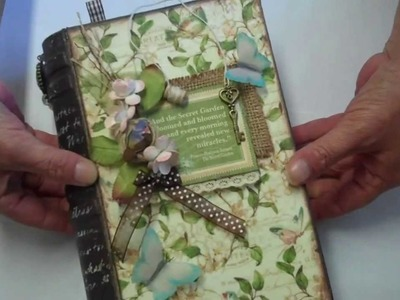 Secret Garden Mini Album in a Book Box