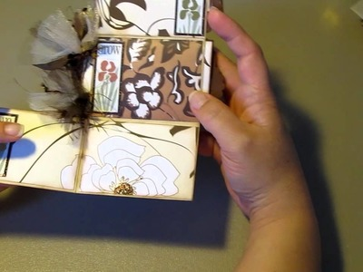 Toilet Paper Roll Mini Scrapbook Album ~ My Very First