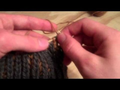 Two-Color Brioche Knitting: Syncopated Ribbing