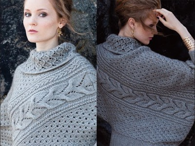 #12 Asymmetrical Pullover, Vogue Knitting Fall 2013