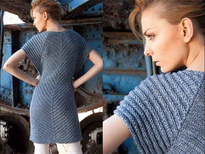 #23 Welted Pullover, Vogue Knitting Early Fall 2011