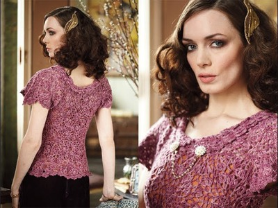 #24 Motif Top, Vogue Knitting Crochet 2013 Special Collector's Issue