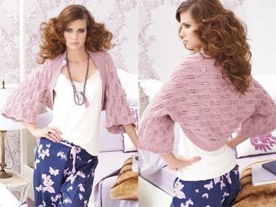 #28 Lace Wrap, Vogue Knitting Early Fall 2010