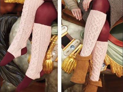 #28 Leg Warmers, Vogue Knitting Holiday 2012