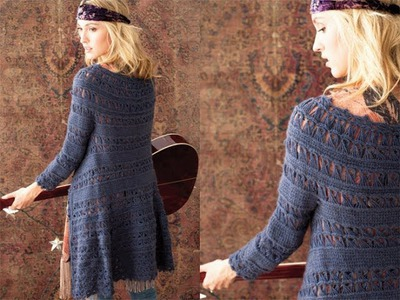 #37 Lace Coat, Vogue Knitting Crochet 2012
