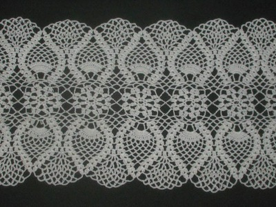 (4) Tableclothes Models Great Lace Designs Crochet Knitting New Trends